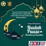 Marhaban yaa ramadhan UNPRI